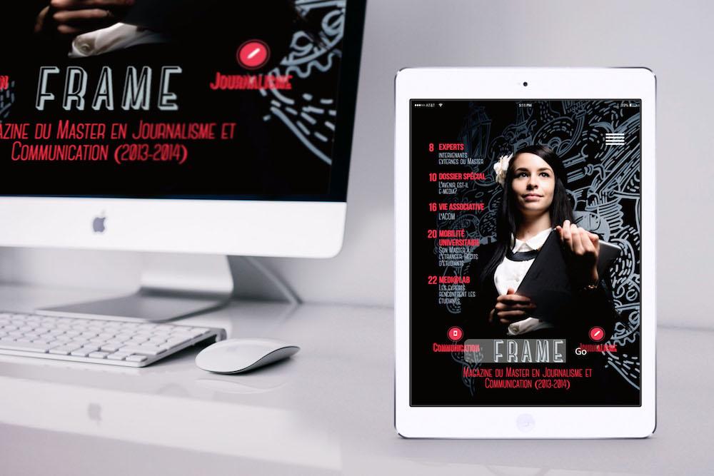 Frame digital magazine